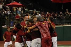 men's tennis victory