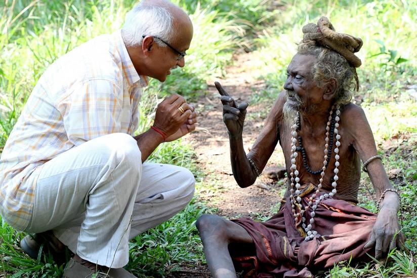Murali Nair and Bhagavan Kani