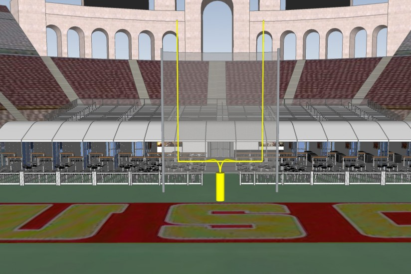 Coliseum On Field Suites Club Areas To Be Added At Usc