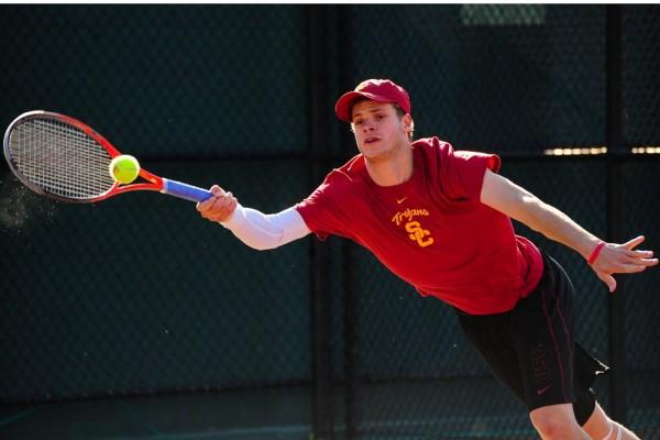 Yannick Hanfmann USC tennis