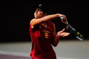 Zoe Scandalis USC tennis