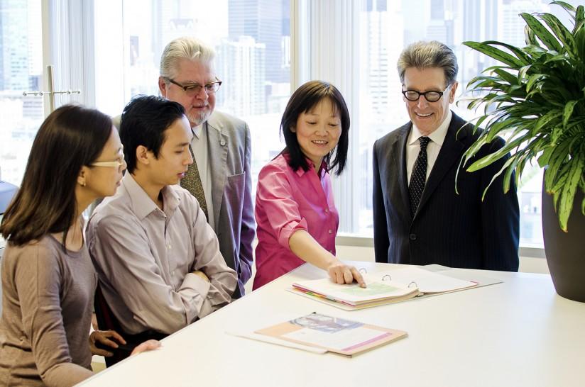 Shinyi Wu and Roybal Institute researchers