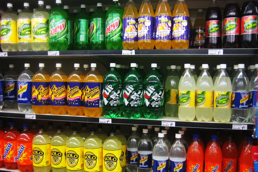 sodas in stores