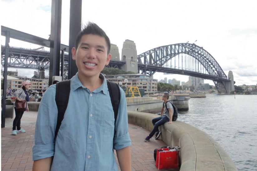 Todd Nguyen in Brisbane