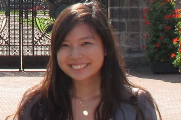 Fourth-year PharmD candidate Victoria Cho