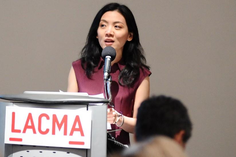 Christina Yu Yu at LACMA
