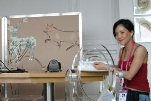 Mina Chow at World Expo