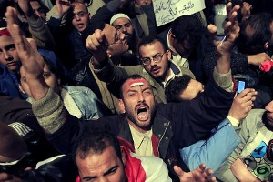 Opposition forces in Cairo