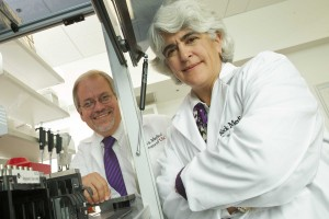Researchers Carlos and Michele Pato