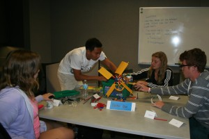Students at the USC Chevron Frontiers of Energy Resources Summer Camp