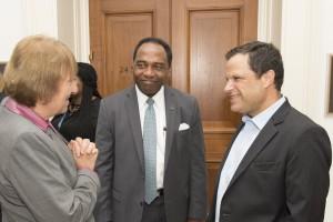 Dana Goldman on Capitol Hill