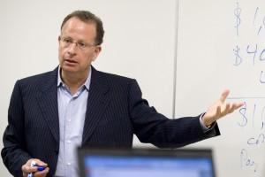 Edward Kleinbard in class