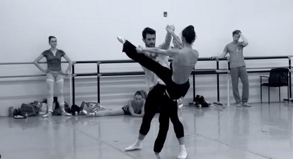 Pennsylvania Ballet rehearsal