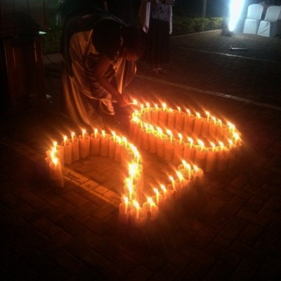 The eternal flame of memory was used to launch Kwibuka20 in Rwanda.