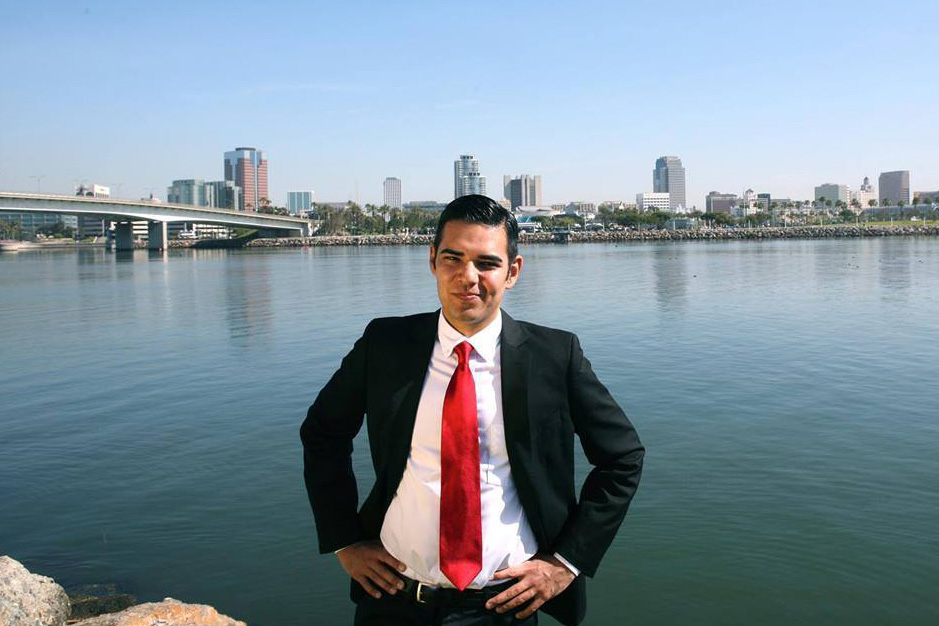 Long Beach Mayor Robert Garcia