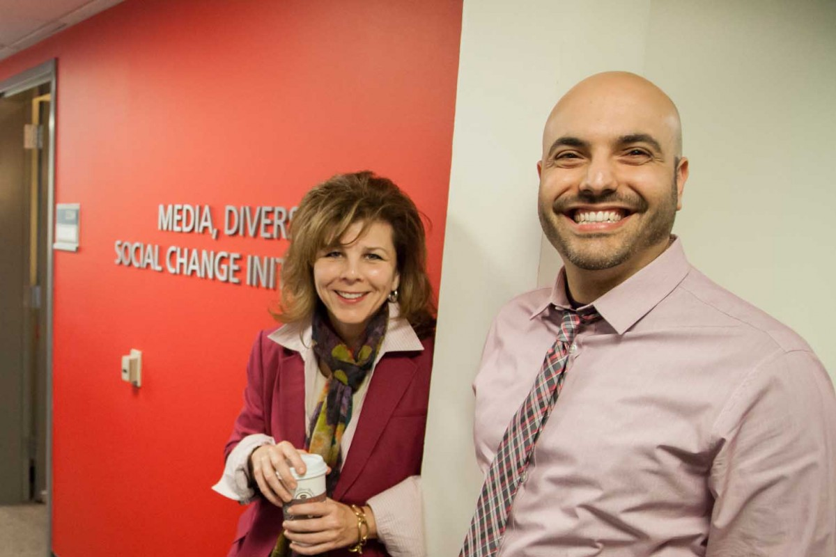 USC Annenberg's Stacy Smith and Marc Choueit