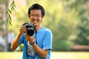 Xinran with camera