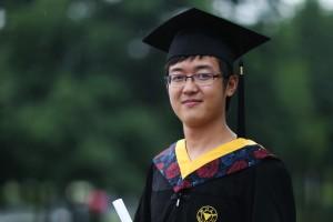 Xinran Ji undergraduate graduation