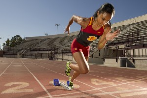track and field athlete