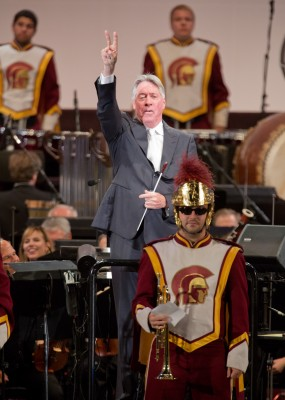 Trojan Band at Hollywood Bowl with Alan Silvestri