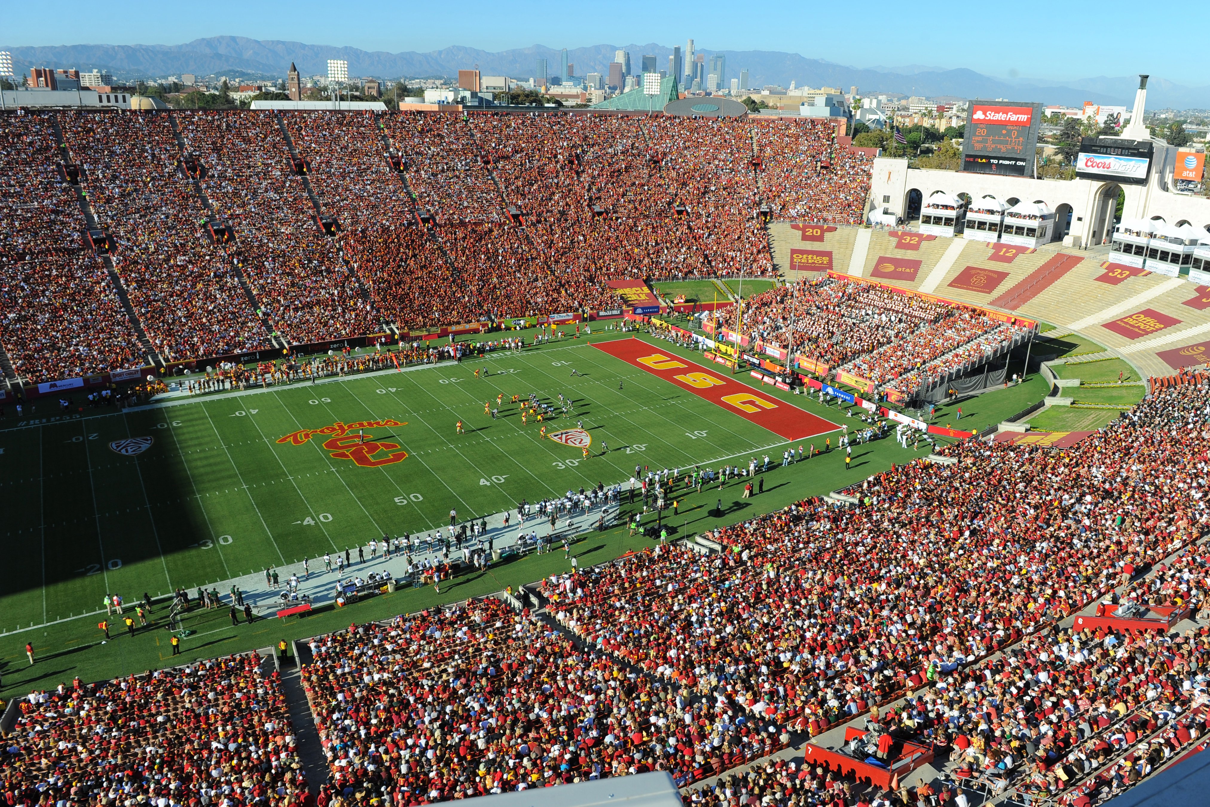 Upgrades Announced For Football Fans At Coliseum Usc News