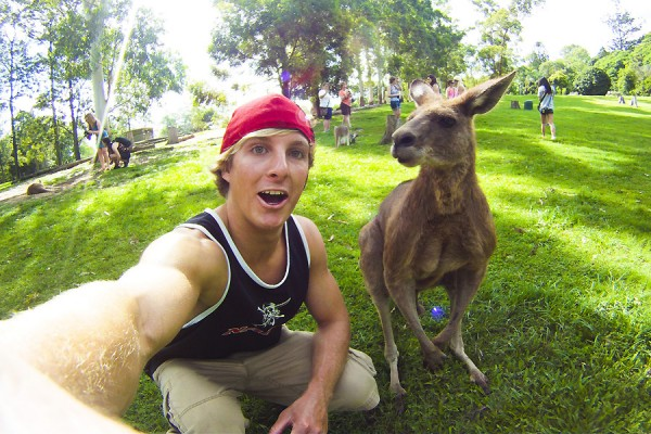 Caleb Farro in Australia