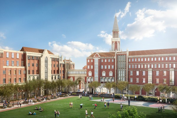 Leavey Honors Hall rendering