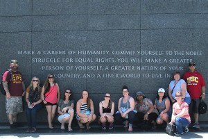 immersion course in D.C.