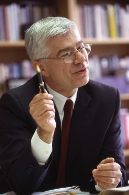 New academic director Dan Mazmanian