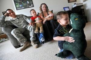 children in military family