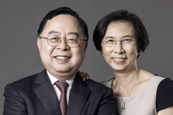 Trustee Ronnie C. Chan and wife Barbara Chan