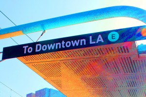 Expo Line sign