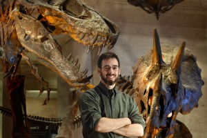 Mike Habib at museum