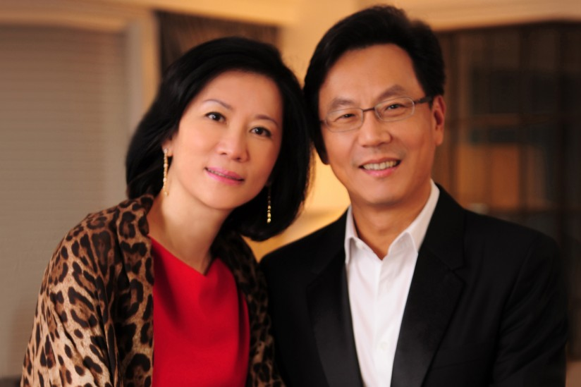 Irene Chen and Daniel Tsai
