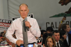 Jerry Brown in 2010