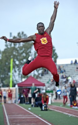 Track star Marqise Lee in 2012