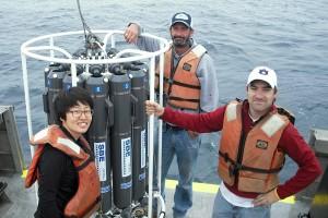 researchers aboard Yellowfin