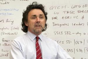 John Wilson in class