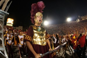 Marching Band performs at Coliseum