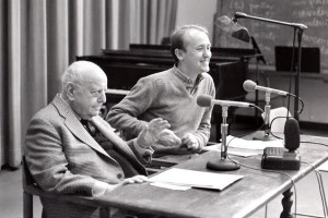 Tim Page and Virgil Thomson at Juilliard