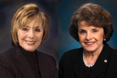 Barbara Boxer, Dianne Feinstein,