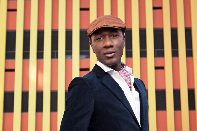 Singer-songwriter and musician Aloe Blacc