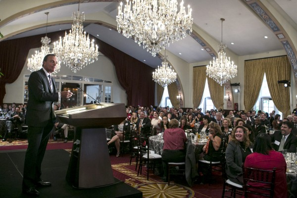 Rick Caruso at 2014 USC Experience Retreat