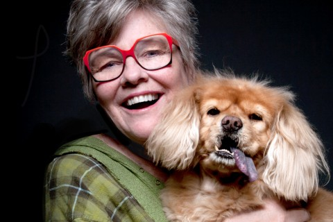 "Alumna, author and motivational speaker Barbara Jo ""BJ"" Gallagher is also an animal lover."