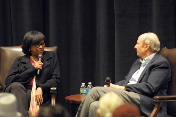 Cheryl Boone Isaacs and Dr. Rick Jewell