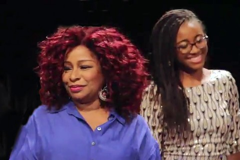 Chaka Khan visited the USC Thornton School of Music on Oct. 17. (USC photo)