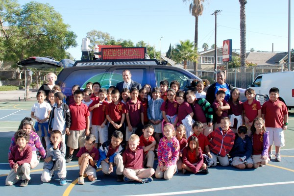 WonderKids program at 32nd Street School, TV weather forecasts