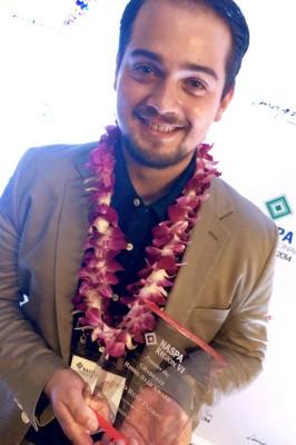 Julio Rene Flores, Graduate Rising Star Award
