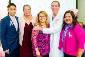 Rock the Pink, USC School of Pharmacy, Tre Leu, Shirley Horn, Reyna Raya, Dr. Stephen Serner, Ghecemy Lopez