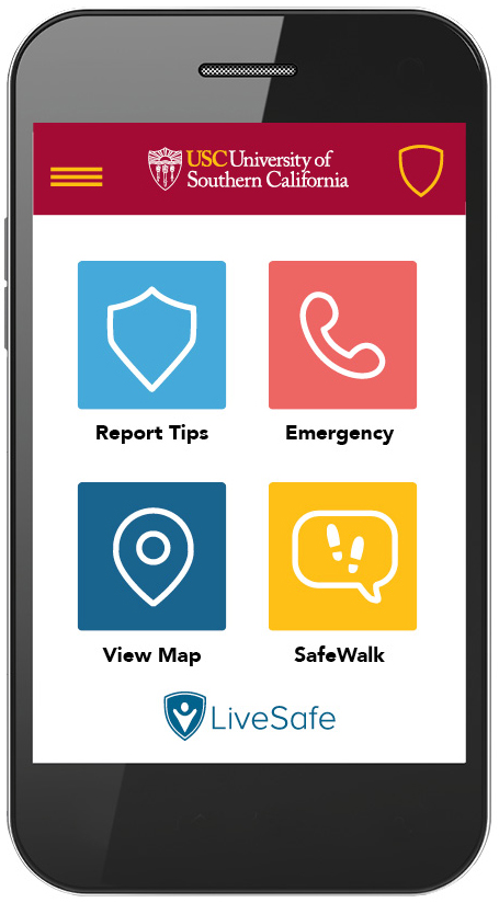 Usc News Launches App Safety - Mobile